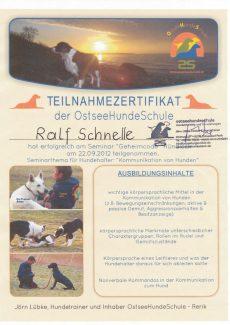 2012.09.22 - Seminar Geheimcode Huendisch
