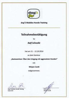 2014.10.12 - Agression Basisseminar